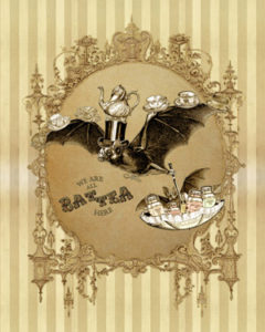 The Tea Bats Lenormand by Bethalynne Bajema