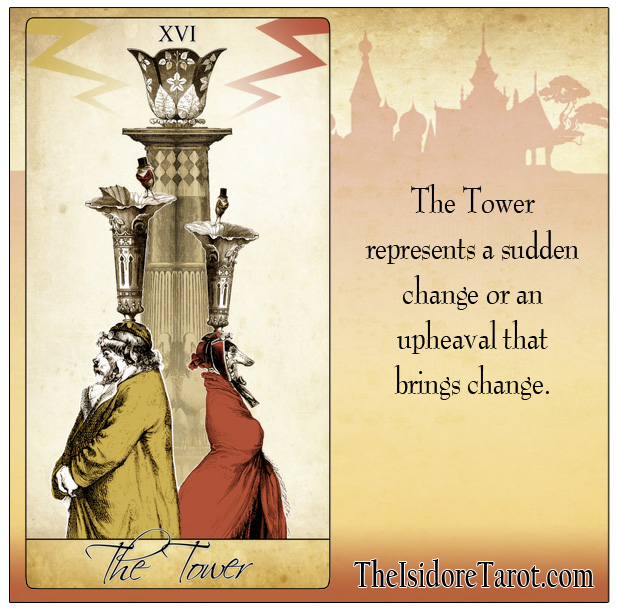 The Isidore Tarot Quick Meanings