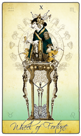 Follow the Isidore Tarot on Facebook