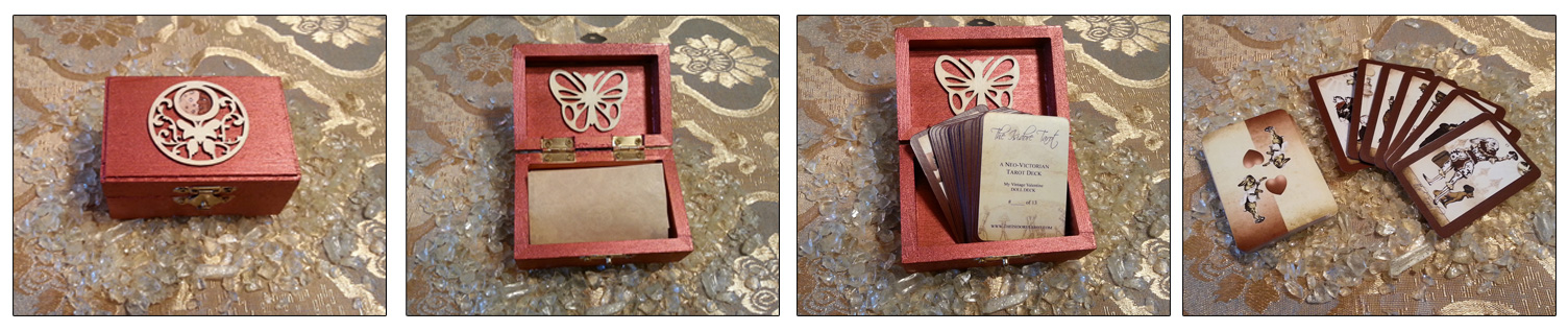 The Isidore Tarot My Vintage Valentine Mini