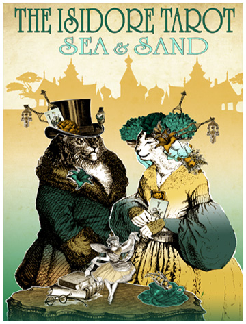 The Isidore Tarot Sea and Sand Spring Edition